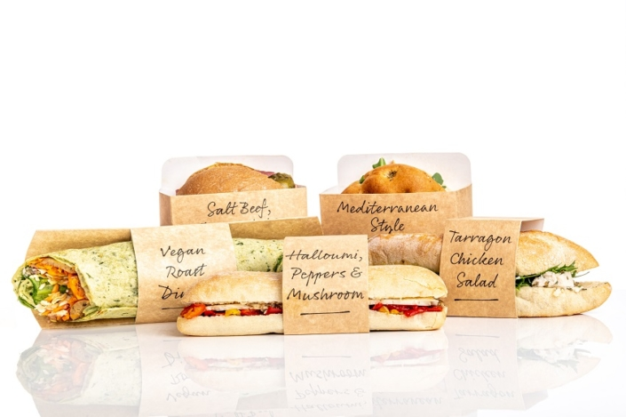 Cafe range of gourmet sandwiches from Raynor Foods