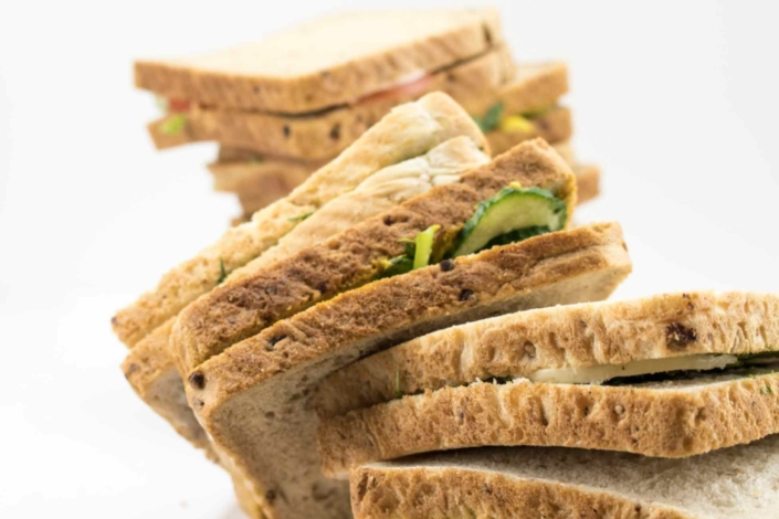 Uncut sandwiches & Catering packs