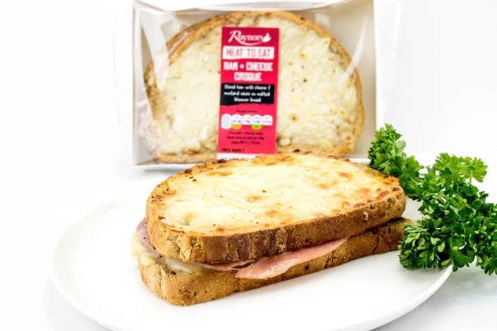 Train Catering Ham and Cheese Croque Monsieur