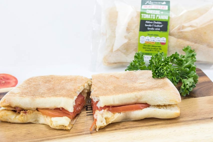 Panini Suppliers - Cheese & Tomato Panini