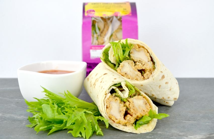 Halal Southern Fried Chicken Wrap