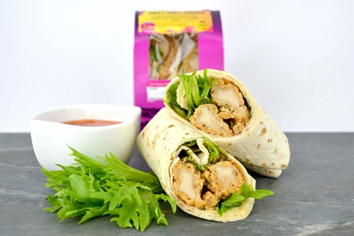 Halal chicken wrap suppliers