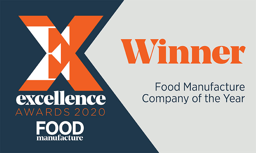 Wholesale Sandwich Suppliers Food Manufacture Company of the Year 2020